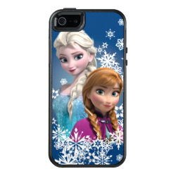 OtterBox Symmetry iPhone SE/5/5s Case with Disney's Frozen Princesses Anna & Elsa design
