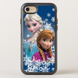 OtterBox Apple iPhone 7 Symmetry Case with Disney's Frozen Princesses Anna & Elsa design