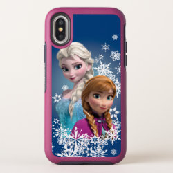 OtterBox Apple iPhone X Symmetry Case with Disney's Frozen Princesses Anna & Elsa design