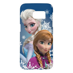Disney's Frozen Princesses Anna & Elsa Case-Mate Barely There Samsung Galaxy S7 Case