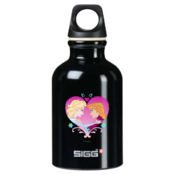 SIGG Traveller Water Bottle (0.6L) with Disney Princesses Anna & Elsa in Heart design