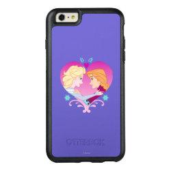 OtterBox Symmetry iPhone 6/6s Plus Case with Disney Princesses Anna & Elsa in Heart design