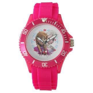 Anna and Elsa   Strong Wristwatch