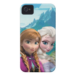 Case-Mate iPhone 4 Barely There Universal Case with Frozen's Anna & Elsa design