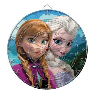 Anna and Elsa | Together Dartboard