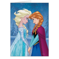 Anna and Elsa | Together Forever Card