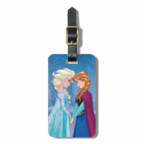 Anna and Elsa | Together Forever Luggage Tag