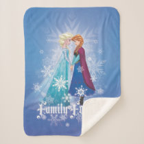 Anna and Elsa | Together Forever Sherpa Blanket
