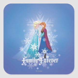 Anna and Elsa | Together Forever Square Sticker