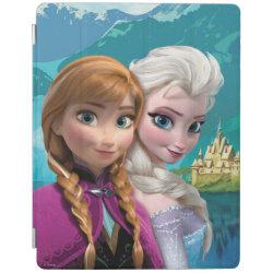 iPad 2/3/4 Cover with Frozen's Anna & Elsa design