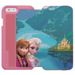 Incipio Watson™ iPhone 6 Wallet Case with Frozen's Anna & Elsa design
