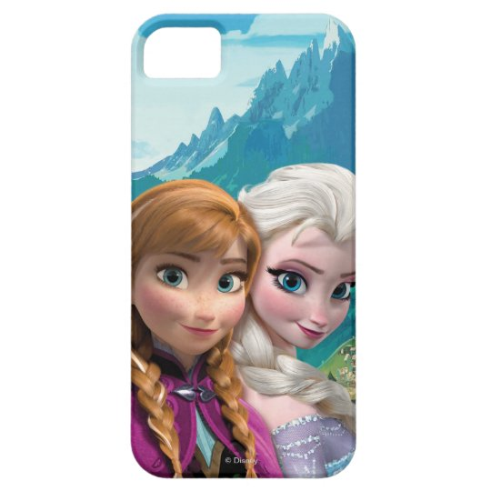 Anna and Elsa | Together iPhone SE/5/5s Case