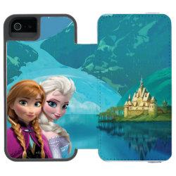 Incipio Watson™ iPhone 5/5s Wallet Case with Frozen's Anna & Elsa design