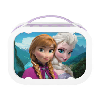 Anna And Elsa | Together Lunch Box at Zazzle