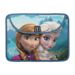 Macbook Pro 13' Flap Sleeve with Frozen's Anna & Elsa design