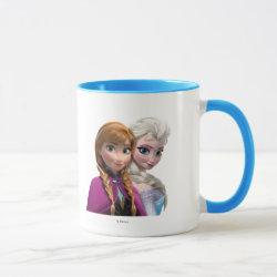 Combo Mug with Frozen's Anna & Elsa design