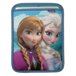 iPad Sleeve with Frozen's Anna & Elsa design