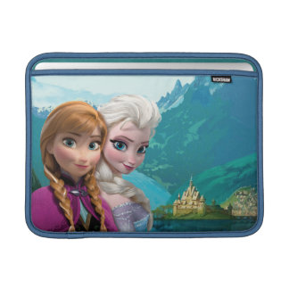 Anna and Elsa | Together Sleeve For MacBook Air