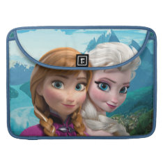 Anna And Elsa | Together Sleeve For Macbook Pro at Zazzle