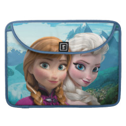 Macbook Pro 15' Flap Sleeve with Frozen's Anna & Elsa design