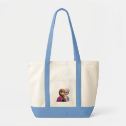 Impulse Tote Bag with Frozen's Anna & Elsa design