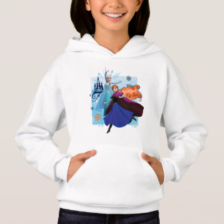 Anna and Elsa   Trick or Treat Hoodie