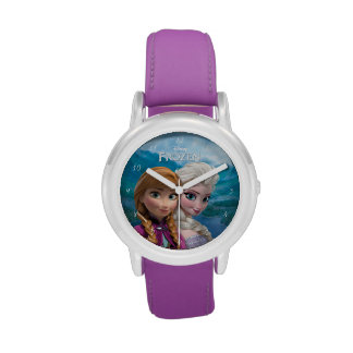 Anna and Elsa Watches