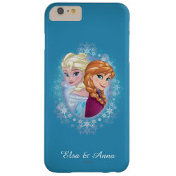 Anna and Elsa | Winter Magic Barely There iPhone 6 Plus Case