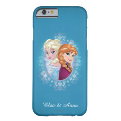 Case-Mate Barely There iPhone 6 Case with Elsa and Anna Together design