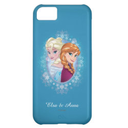 Case-Mate Barely There iPhone 5C Case with Elsa and Anna Together design