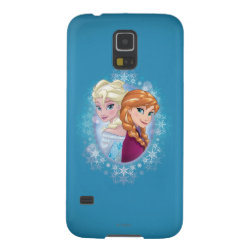 Case-Mate Barely There Samsung Galaxy S5 Case with Elsa and Anna Together design