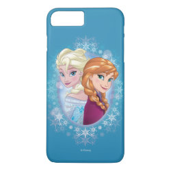 Case-Mate Tough iPhone 7 Plus Case with Elsa and Anna Together design
