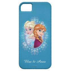 Anna and Elsa | Winter Magic iPhone SE/5/5s Case