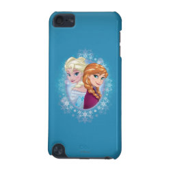 Anna and Elsa | Winter Magic iPod Touch (5th Generation) Case