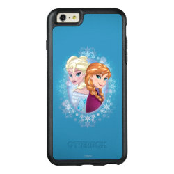 OtterBox Symmetry iPhone 6/6s Plus Case with Elsa and Anna Together design