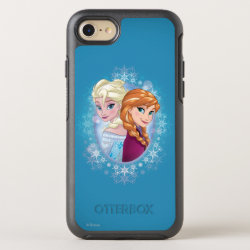 OtterBox Apple iPhone 7 Symmetry Case with Elsa and Anna Together design