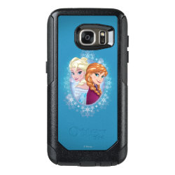 OtterBox Commuter Samsung Galaxy S7 Case with Elsa and Anna Together design