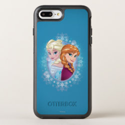 Anna and Elsa | Winter Magic OtterBox Symmetry iPhone 8 Plus/7 Plus Case