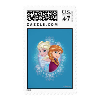Anna and Elsa | Winter Magic Postage