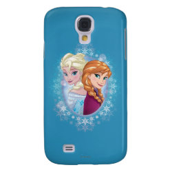 Case-Mate Barely There Samsung Galaxy S4 Case with Elsa and Anna Together design
