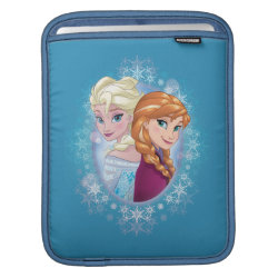 iPad Sleeve with Elsa and Anna Together design