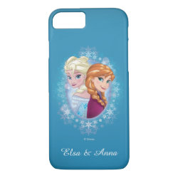 Case-Mate Barely There iPhone 7 Case with Elsa and Anna Together design
