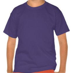 Kids' Hanes Poly-Cotton Blend T-Shirt with Anna & Elsa Floral Design design
