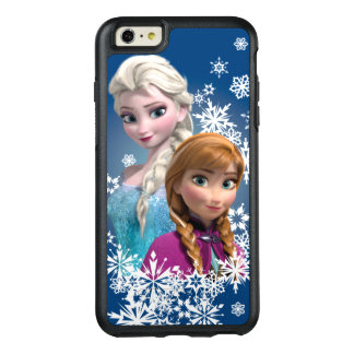 Anna and Elsa with Snowflakes 2 OtterBox iPhone 6/6s Plus Case