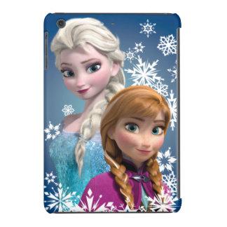Anna and Elsa with Snowflakes iPad Mini Cases