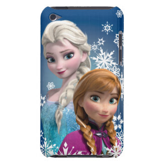 Anna and Elsa with Snowflakes Case-Mate iPod Touch Case