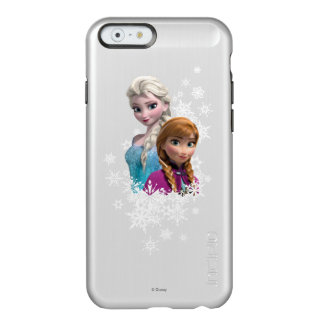 Anna and Elsa with Snowflakes Incipio Feather® Shine iPhone 6 Case