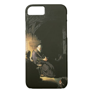 Anna and the Blind Tobit, c.1630 (oil on panel) iPhone 8/7 Case