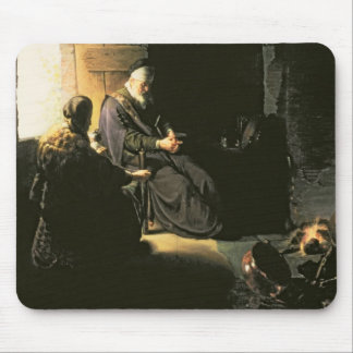 Anna and the Blind Tobit, c.1630 (oil on panel) Mouse Pad