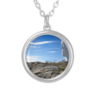Anna at Pilane, Tjörn Silver Plated Necklace